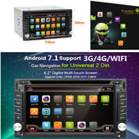 "2 DIN Android 7.1 WIFI 6.2"" Car Radio Stereo DVD Player GPS Navigation Touscreen"