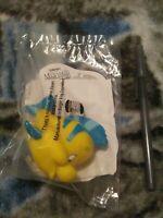 1993 Disney the Little Mermaid Burger King Kids Meal Toy - Flounder Squirter