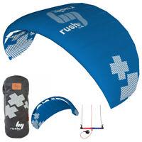 HQ Rush III Pro 300 Trainer Kite Kiteboarding Power Traction Snow Surf Kitesurf