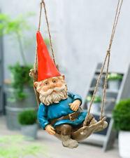 "Rien Poortvliet® Original Garden Kabouter David Gnome in a Hammock 15.8"" - 40CM"