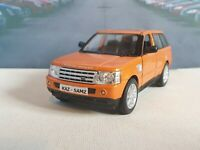 PERSONALISED RANGE ROVER SPORT  ORANGE 1.38 DIECAST MODEL CAR NEW BOYS TOYS GIFT