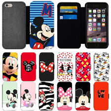 Disney Mickey Mouse Flip PU Leather Wallet Phone Case Cover For Apple iPhone 678