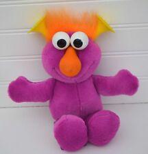 vtg TYCO Dark Pink Plush HONKERS Yellow Horns Nose Honks Sesame Street 1995