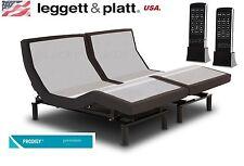 PRODIGY 2.0 LEGGETT AND PLATT ADJUSTABLE SPLIT/DUAL KING SIZE BED/BASE (EASTERN)