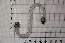 "Vintage Glass Arm Chandelier Lamp Sconce Pattern twist rope  6"" x 7"" part l"