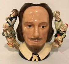 """Royal Doulton Porcelain Jug D6933 """"William Shakespeare� Limited Edition"""
