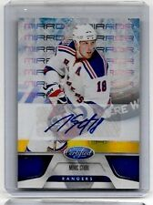 MARC STAAL 2010-11 PANINI CERTIFIED BLUE MIRROR CERTIFIED AUTOGRAPH#/99