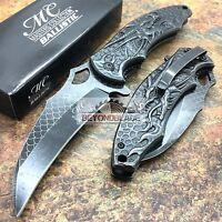 Master Collection Black Dragon Titanium Blade Tactical Pocket Knife MC-A037SW