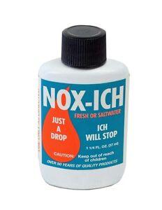 WECO NOX ICH 1.25 OZ JUST A DROP FRESH OR SALT TREATMENT. FREE SHIP TO THE USA