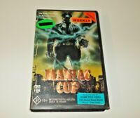 Maniac Cop VHS Pal cbs fox big box ex rental foil sleeve
