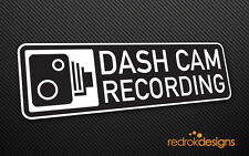 X2 DASH CAM Recording Stickers | Professional Car Lorry Truck Window Decal