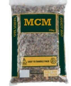 Bulk Bag 10mm Pea Gravel / Stone / Shingle 50KG (Drainage,Landscaping,Driveways)