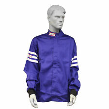 FIRE SUIT SFI 3-2A/1 RACE SUIT JACKET BLUE ADULT 5X RJS RACING SFI 1
