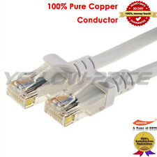 CAT5E CAT5 RJ45 Ethernet High Speed Network Patch Lan Cable Cord-100FT Hi-Speed