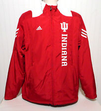 Indiana Hoosiers STITCHED & Full Zip Clima Proof Jacket by Adidas, Adult Small