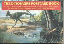 The Dinosaurs Postcard Book - Vintage