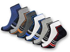 6 | 12 Paar Sport Sneaker Socken Herren Damen Frotteesohle Sportsocken Baumwolle