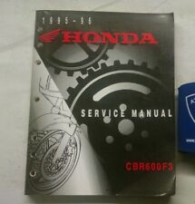 1995 1996  HONDA CBR600F3 SERVICE SHOP MANUAL PN 61MAL01