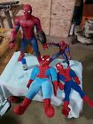 Spider-Man+Lot+Of+4+Marvel+Mania+Plush+And+Motorized+Clean+And+Working+2017+2012