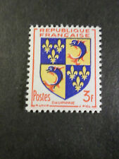 FRANCE 1953 timbre 954, Armoiries Dauphiné, neuf**, MNH STAMP
