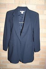 Nygard Collection Dark Navy Blue Blazer Size 8 Fully Lined