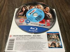 Death Race Inferno (Blu-ray, 2013) DISK ONLY