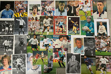 More details for 34 x signed magazine pictures of england players includes erkisson, clemence etc