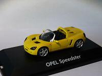 OPEL speedster  au 1/43 de Schuco