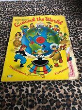 Picture Sticker Activity Book Around The World 1956