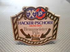 Hacker Pschorr Braumeister Pils Zapfhahnschild M1072 Emailschild