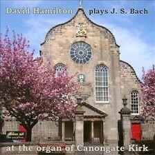 David Hamilton plays JS Bach at the organ of Canongate Kirk, New Music