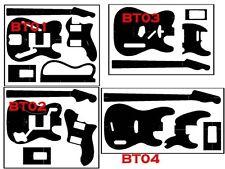 Guitar Builder Adhesive Blueprints Guitar Templates Vinyl decal Template Builder