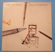 PAUL MCCARTNEY PIPES OF PEACE LP1983 ORIGINAL PRESS NICE CONDITION! VG/VG!!