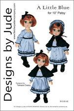 "Dress & Bonnet Doll Clothes Sewing Pattern 10"" Patsy & Ann Estelle dolls Tonner"