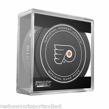 2016 PHILADELPHIA FLYERS STANLEY CUP PLAYOFFS OFFICIAL GAME PUCK