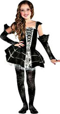New in Pkg!  Midnight Mischief Spider Dress Girl's Child Costume - Sz S (4-6)