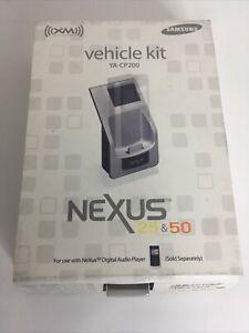Samsung YA-CP200 NeXus Digital Audio Player 25 & 50 XM Radio Car Kit