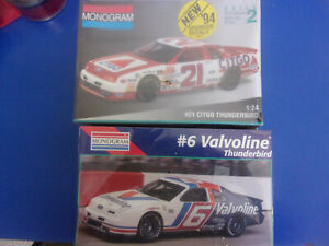 PICK 1 Monogram 2959 Valvoline or 2961 Citco Thunderbird NASCAR New sealed box
