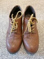 Office Brown Brogues size 6