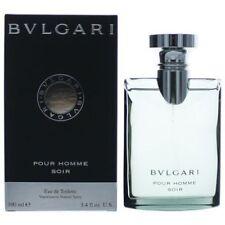 Bvlgari Soir Cologne by Bvlgari, 3.4 oz EDT Spray for Men NEW