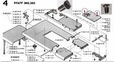 Befestigungsschraube, Stichplatte Pfaff Nähmaschine 360 362