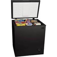 5.0 cu ft. Chest Deep Freezer Upright Compact Dorm Apartment Home Office Black