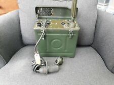 VINTGE ARMY RADIO WIRELESS SET No 31 Mk 1/1  ZA51101 MANPACK WS31