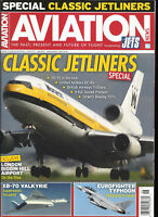 AVIATION NEWS MAGAZINE,  SPECIAL ISSUE CLASSIC JETLINERS       JUNE, 2018