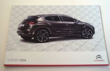 Citroen . DS4 . Citroen DS4 . August 2011 Sales Brochure