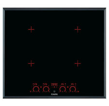 AEG HK674400FB 60cm 4 Zone Black Integrated Touch Control Induction Hob