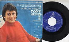 TONY RENIS canta in SPAGNOLO disco 45 giri MADE in SPAIN Mina GRANDE GRANDE GRAN