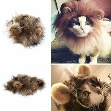 Pet Costume Lion Mane Wig for Cat Dog Halloween Christmas Party Dress Up 35cm q2