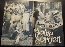 IFK: 501: Seine Sorgen, Buster Keaton, Anita Page, Frank La Rue,