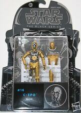 "Star wars 3.75"" black series figure - #16 C-3PO - origine Hasbro 2015 neuf"